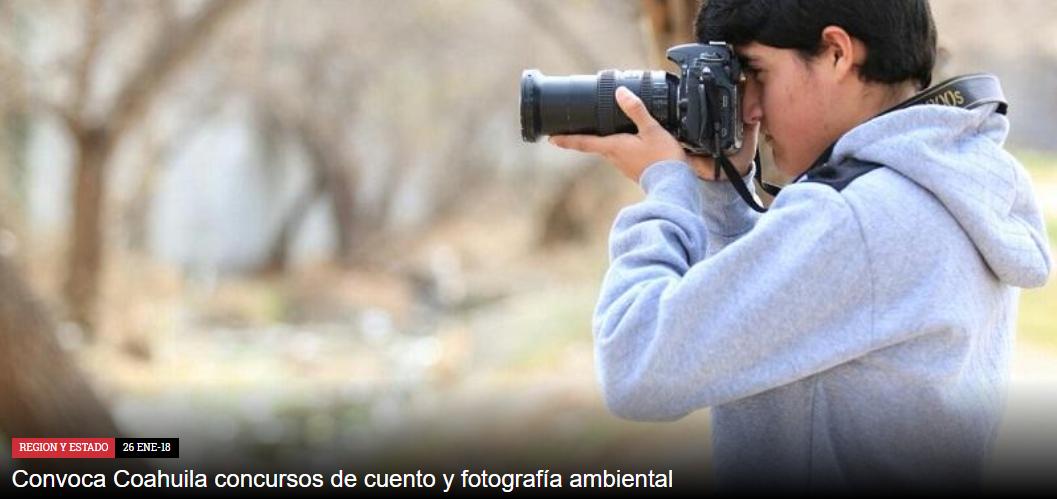 """Concurso de Fotografía """"Áreas Verdes Urbanas ¿Así las queremos?"""""""
