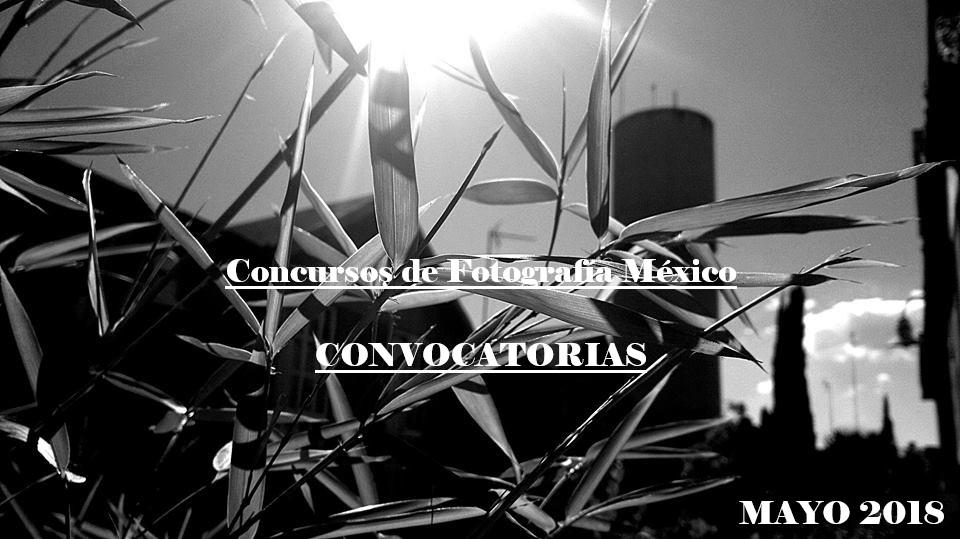 Concursos de Fotografía México Mayo 2018