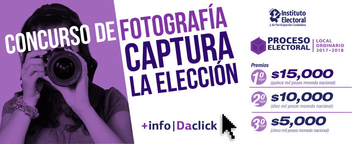 """Concurso de Fotografía """"Captura la Elección"""""""