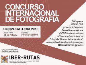 """Concurso internacional de fotografía """"Diferentemente Iguales"""" 2018"""