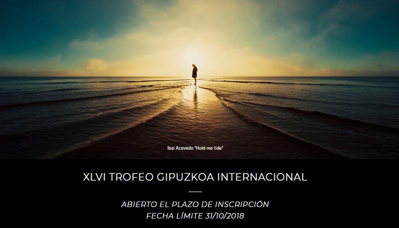 Concurso de Fotografía – XLVI TROFEO GIPUZKOA INTERNACIONAL 2018