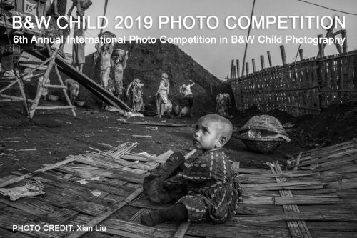 B&W Child Photo Competition 2019