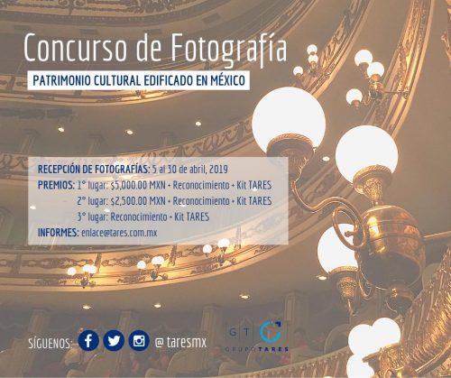 concurso de fotografía patrimonio cultural edificado en méxico