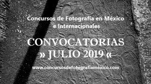 Concursos de Fotografía Julio 2019