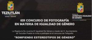 1ER. CONCURSO DE FOTOGRAFÍA EN MATERIA DE IGUALDAD DE GÉNERO