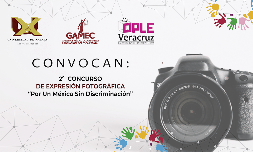 """2º CONCURSO DE EXPRESIÓN FOTOGRÁFICA """"Por Un México Sin Discriminación"""""""