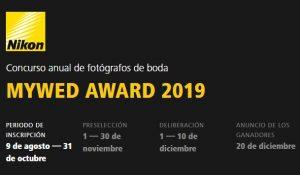 Concurso anual de fotógrafos de boda MYWED AWARD 2019