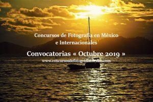 Concursos de Fotografía Octubre 2019