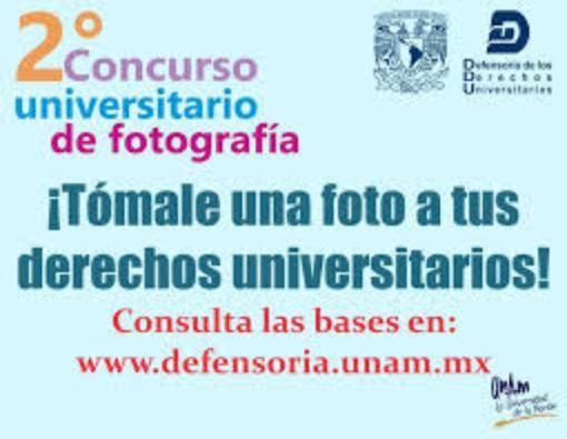 Concurso Universitario de Fotografía ¡Tómale una Foto a tus Derechos Universitarios!