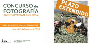 """Concurso de Fotografía """"Juventud y Desarrollo Rural"""""""