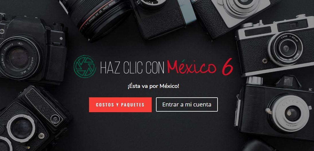 "Convocatoria Nacional de Fotografía ""HAZ CLIC CON MÉXICO"" 2020"