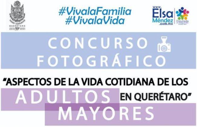 Concurso fotográfico Adultos Mayores Qro