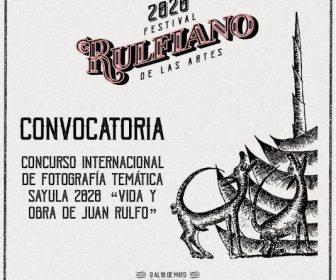 """Concurso Internacional de Fotografía Temática Sayula 2020 """"Vida y obra de Juan Rulfo"""""""
