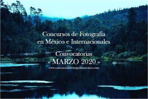 Concursos de Fotografía Marzo 2020