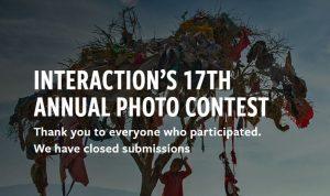 17th InterAction Anual Concurso de fotografía 2020