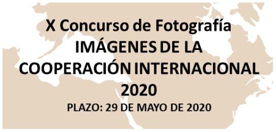 Concurso de fotografía Cooperación Internacional