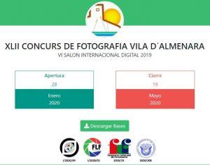 XLII Concurso de Fotografía Villa de Almenara 2020