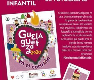 Concurso de Fotografía Infantil «Guelaguetza 2020 en el corazón»