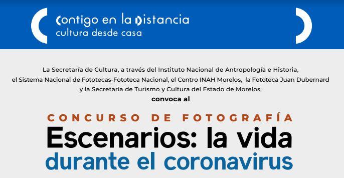 Concurso de Fotografía Escenarios: La vida durante el Coronavirus