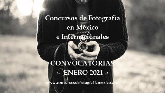Concursos de Fotografía Enero 2021