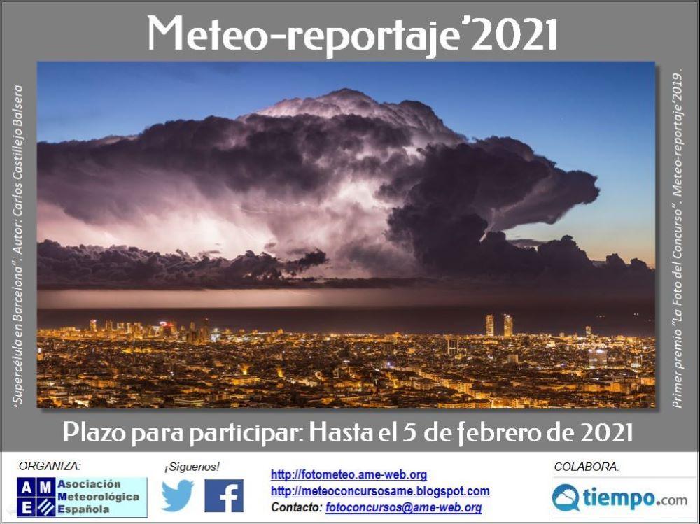 Concurso de Fotografía Meteo-reportaje 2021
