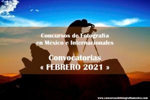 Concursos de Fotografía Febrero 2021