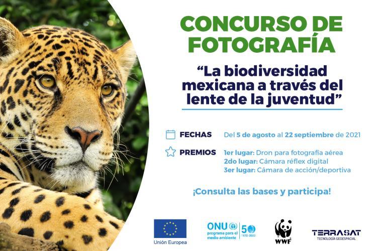 Concurso de Fotografía La biodiversidad mexicana a través del lente de la juventud