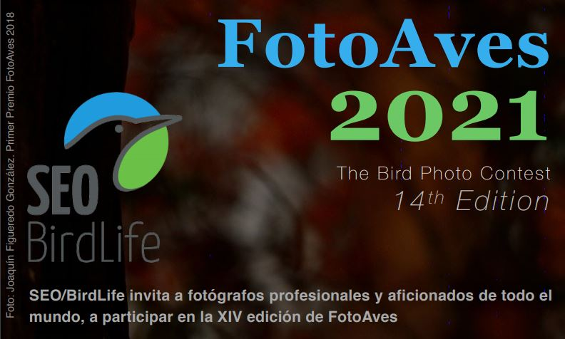 FotoAves 2021 - The Bird Photo Contest 14th Edition