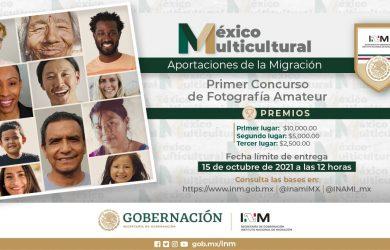 Convocatoria al Primer Concurso de Fotografía Amateur «México Multicultural»