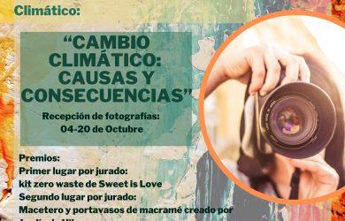 Concurso de Fotografía Cambio Climático