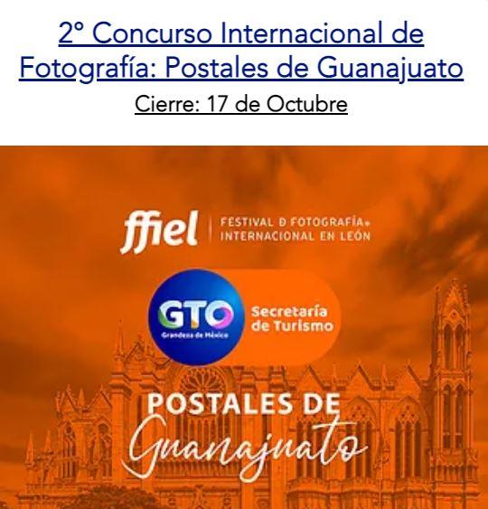 2° Concurso Internacional de Fotografía: Postales de Guanajuato